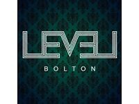 Level Nightclub - Bolton - Join our team
