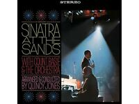 FRANK SINATRA AT THE SANDS DOUBLE LP
