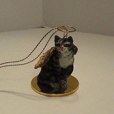 Cat Angel Ornament