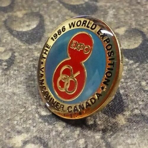 WORLD EXPO 1986 vintage pin badge Vancouver Canada