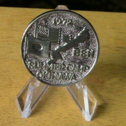 OFFICIAL BSA-1972 BSN Summer Camp, Okinawa Friendship Coin(USA/Japan)