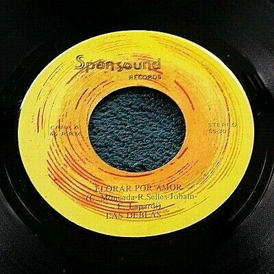 Las Deblas - Llorar Por.../Tani 45 private press ABBA-esque latin disco pop HEAR