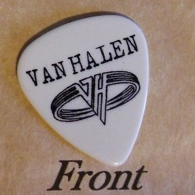 VAN HALEN - MICHAEL ANTHONY (Band Signature Logo) guitar pick -(w)