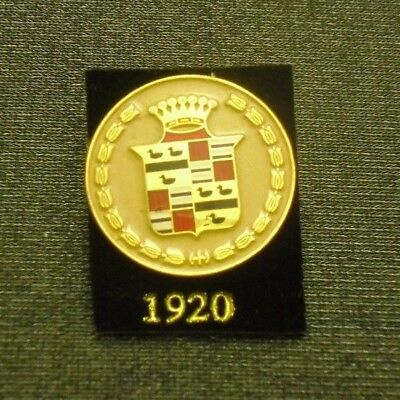 1920 CADILLAC PIN CREST LAPEL HAT EMBLEM LOGO FROM LICENSED GM COLLECTOR SET