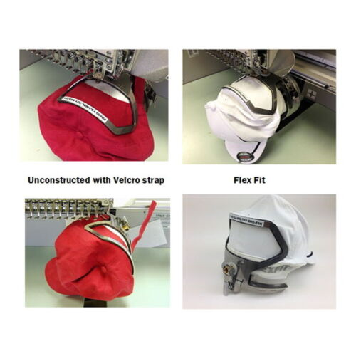HoopTech Compact Cap Back Clamp for Cap  for Commercial Embroidery Machines New