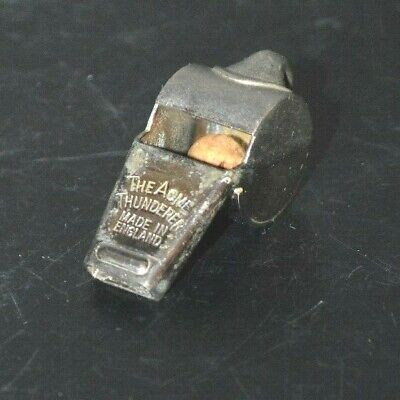THE ACME THUNDERER MADE IN ENGLAND WHISTLE CORK BALL