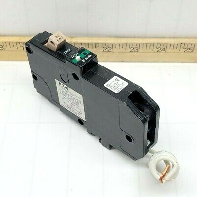 New Eaton 20 Amp Combination Arc Fault Circuit Breaker 1 Pole 120 Vac Chfcaf120