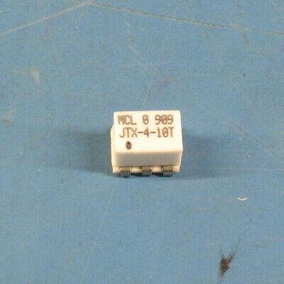 Two Mini-circuits Jtx-4-10t 50-1000mhz 41 Ratio Transformers