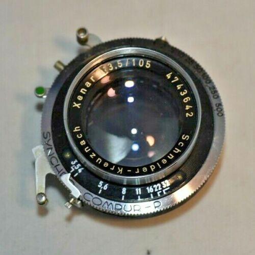 Schneider Xenar 105mm Large Format Camera Lens