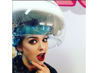 Louise Mitchell Hair- vintage, alternative and wedding hair stylist in Central Glasgow
