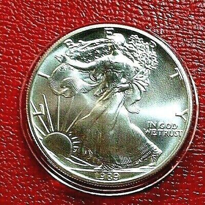 1989 1 oz. Silver American Eagle (Brilliant Uncirculated) from Roll