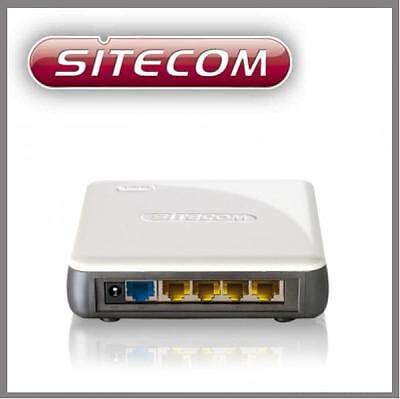 10 x Sitecom WL-341 WLAN mini - Router 300 Mbit/s 802.11B/G/N