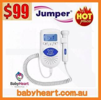 The Amazing Pocket Jumper Baby Fetal Doppler-ARTG APPROVED