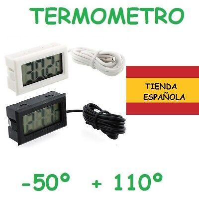 TERMOMETRO SONDA -50º +110º CAMARA NEVERA AUTOMOCION TEMPERATURA DIGITAL