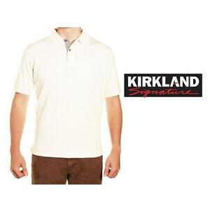 NEW KIRKLAND POLO SHIRT MEN'S SM - 125425967 - WHITE
