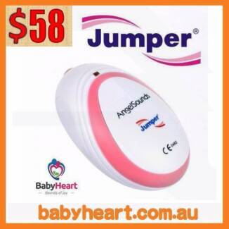 AngelSounds Jumper Baby Fetal Doppler Baby Heart Monitor