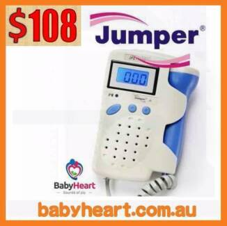 Jumper Pocket Fetal Doppler Baby Heart Monitor -ARTG APPROVED