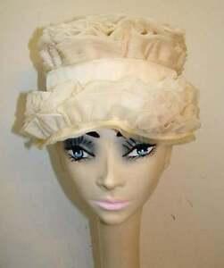 1960s-Mr-John-Jr-Ruffled-Silk-Organza-Tiered-Hat
