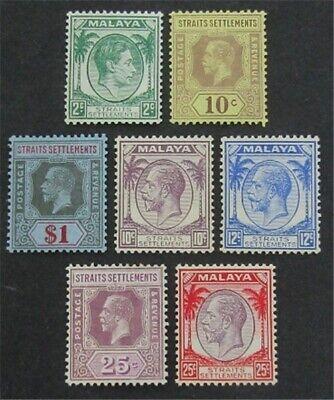 nystamps British Straits Settlements Stamp # 191a//239 Mint OG H $35   L23x2914