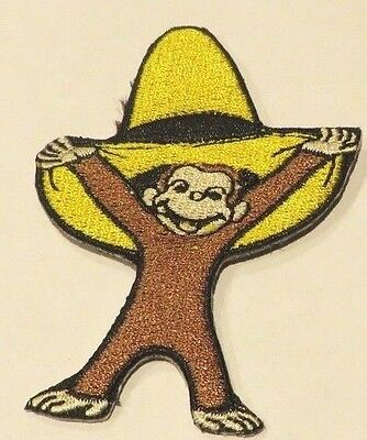 George Yellow Hat (CURIOUS GEORGE IN BIG YELLOW HAT EMBROIDERED 3