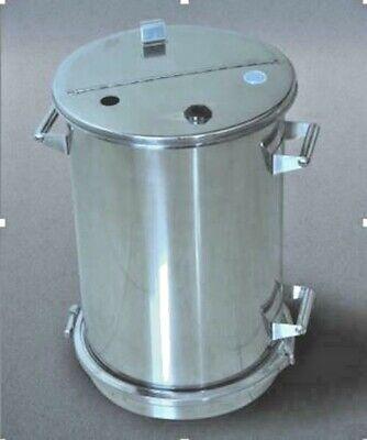 50 Lb Fluidizing Powder Coating Hopper - Usa Shipping