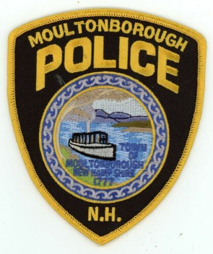 MOULTONBOROUGH POLICE NEW HAMPSHIRE NH NICE NEW COLORFUL PATCH SHERIFF STYLE 1