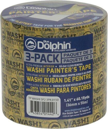 "Arroworthy TP WASHI SP2 3PK Washi Tape 1.41"" x 60 yds"