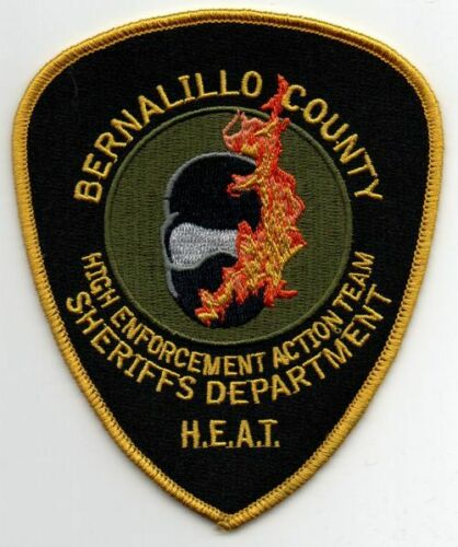 NEW MEXICO NM BERNALILLO COUNTY SHERIFF HEAT NICE PATCH POLICE