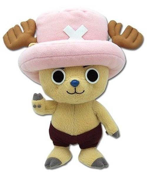 "REAL AUTHENTIC Great Eastern One Piece (GE-7096) - 8"" Tony Tony Chopper Plush"