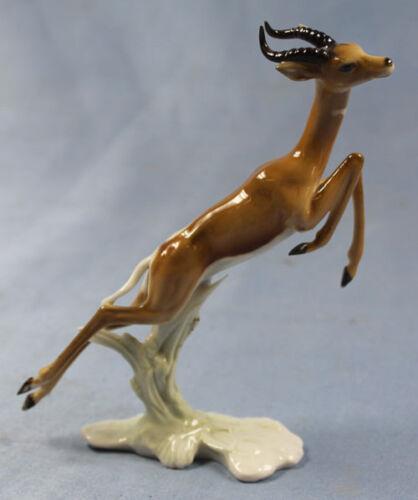 Gazelle granget Porcelain figurine Hutschenreuther 1970 animal