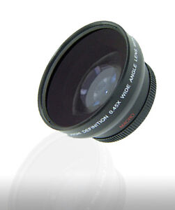 43mm 0.45X Wide-Angle Lens For CANON VIXIA HV20 HV30 HV40