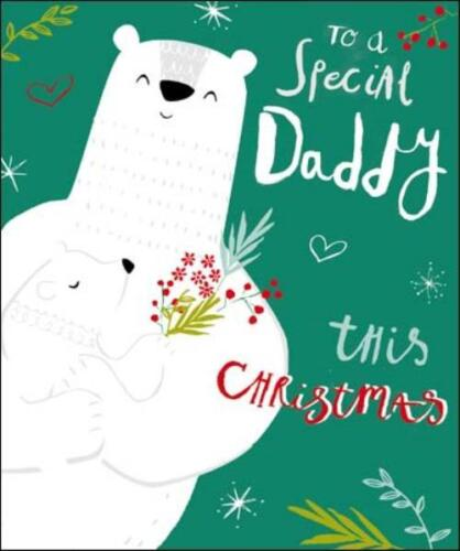 Wonderful Sister Christmas Card Luxurious rrp £4.10 LUX1