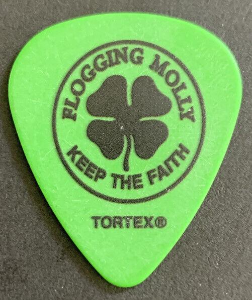 FLOGGING MOLLY MATT HENSLEY Guitar Pick RARE!