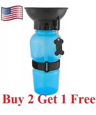 Dog cat pet  Mug Portable Travel Auto  Bottle Water Bowl Fits Cup Holder (Dog Bowl Holder)