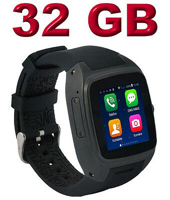 Enox WSP88 V2 Android Stand-Alone Smartwatch Smartphone Handyuhr