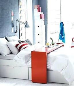 Ikea Rolling Over The Bed Table Malm Series