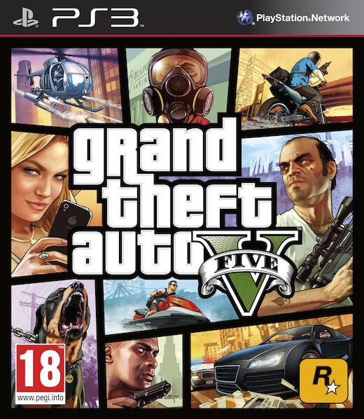 PS3 Grand Theft Auto V / GTA 5 (brand new)