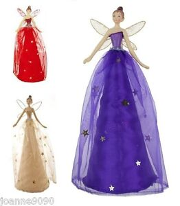 GISELA-GRAHAM-TRADITIONAL-RED-GOLD-FAIRY-ANGEL-CHRISTMAS-TREE-TOPPER-DECORATION