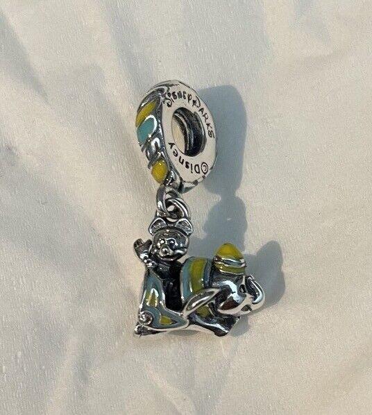 Pandora Disney Parks Mickey Dumbo Ride Dangle Silver 925 Charm799318C01  - $9.50