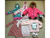 Girl's clothes bundle autumn and winter 4-5yrs