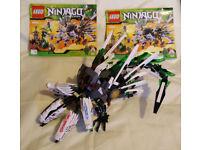 Lego Ninjago Four Headed Dragon 9540 set
