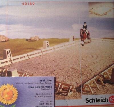 Schleich farm life Pferde Dressurplatz Viereck Dressage place horse 40189 Neu