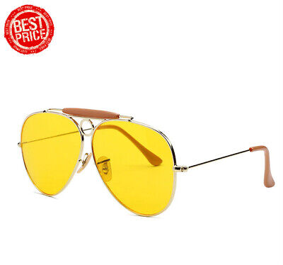 Fear And Loathing In Las Vegas Sunglasses Yellow Lens Aviator Driving (Fear And Loathing In Las Vegas Glasses)