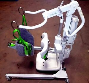 power combo Patient Sit to Stand & full Lift Hill Rom Sabina II