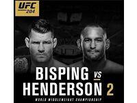 UFC 204 tickets £275