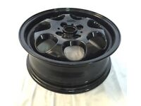 GENUINE BMW MINI 15 inch BLACK ALLOY WHEEL