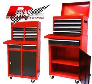 Tool Box Steel Tool Chest Cabinet Roll Cab Wheeled Roller With Drawers