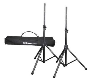 Speaker Stands and Carry Bag
