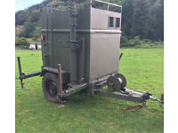 NATO Generator trailer sankey telescopic arm kva 110v 240v Land Rover