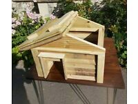 Need a workshop or garage where can store tools and timber to build hedgehog houses